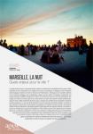 Regards de l'Agam n° 56 - TERRITOIRES : Marseille la nuit, quels enjeux pour la ville ?