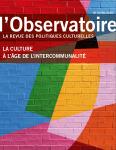L'Observatoire, 54 - Eté 2019 - La culture à l'âge de l'intercommunalité