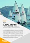 Regards de l'Agam n° 81 - SOCIETE - Métropole des sports, état de la pratique sportive dans la Métropole Aix-Marseille-Provence