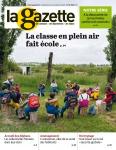 La Gazette des communes, 34/2580 - du 6 au 12 septembre 2021 - La classe en plein air fait école