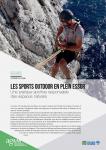 Regards de l'Agam n° 108 - ENVIRONNEMENT : Les sports outdoor en plein essor, une pratique sportive responsable des espaces naturels