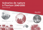 Scénarios de rupture à l'horizon 2040-2050 : rapport vigie 2020