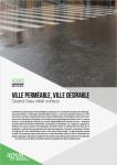 Regards de l'Agam n° 91 - ENVIRONNEMENT : Ville perméable, ville désirable : quand l'eau refait surface